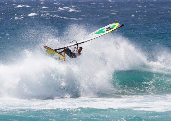 Windsurfing - Ho'okipa, Maui - May 2011