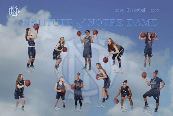 2014-2015 IND Basketball Players