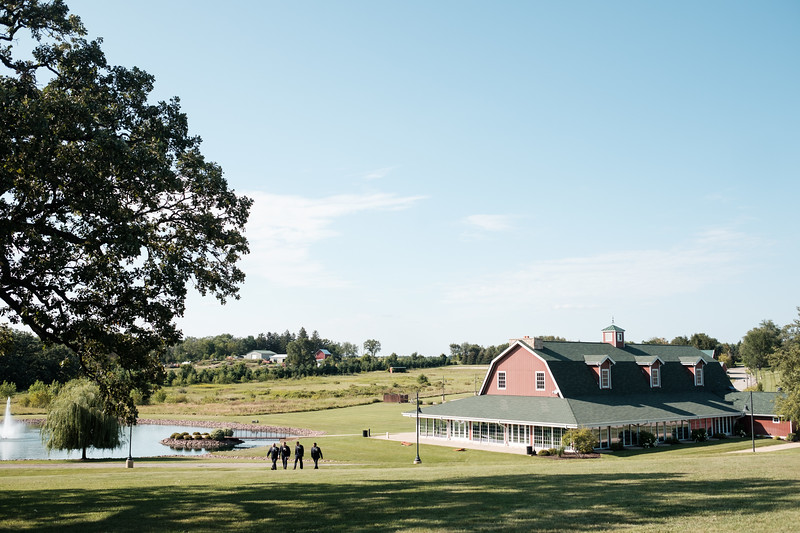 Sarah & Jeff's Pavilion at Orchard Ridge Farms Wedding