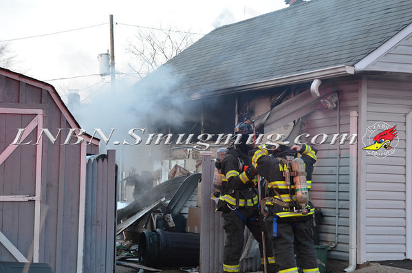 Wantagh F.D. House Fire 40 Serpentine Lane 12-7-13