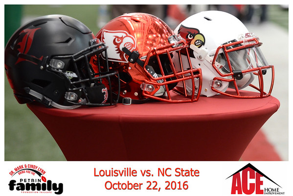 Saturday October 22, 2016 UofL vs NC State
