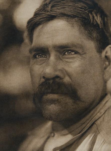 A Maidu man (The North American Indian, v. XIV. Norwood, MA, The Plimpton Press, 1924)