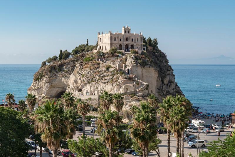 Church of Santa Maria dell'Isola, Tropea, Calabria, Italy