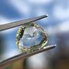3.46ct Portrait Rose Cut Trapezoid Diamond GIA UV VVS2 29