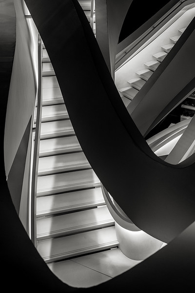 staircase at Armani 5th Avenue