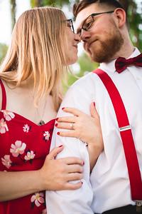 {Megan & Robert, engaged}