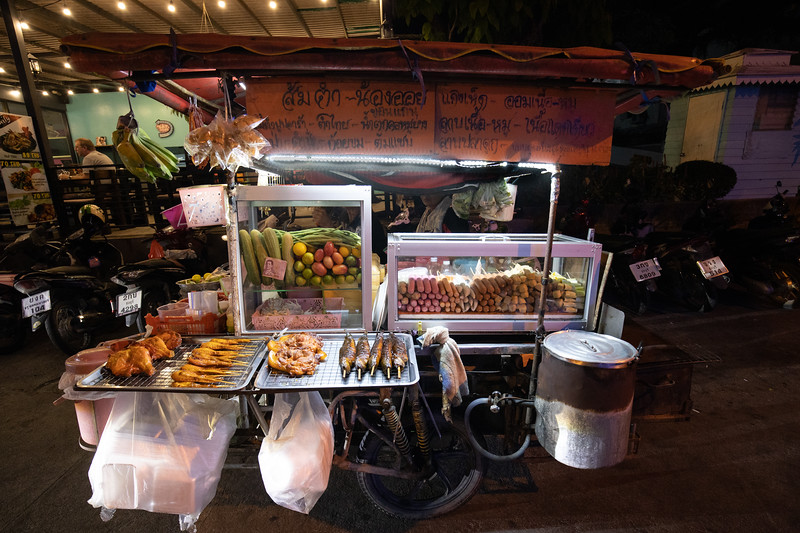 Mobile restaurant of Jomtien, Thailand