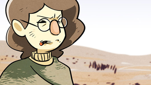 Read the latest Trenches strip