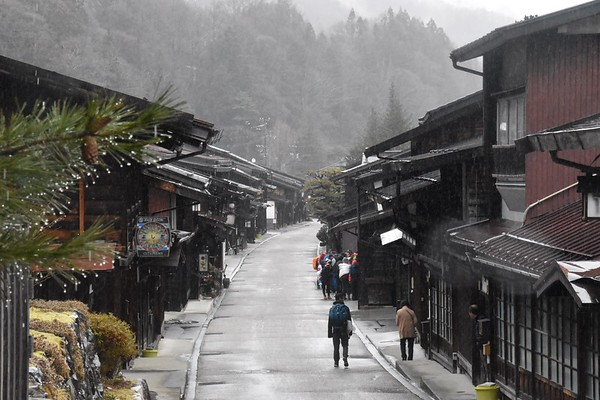 Grade 11 Japan on Foot Expedition Nakasendo, Nagano