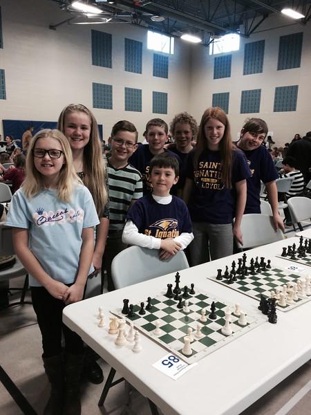 Gavin & The St. Ignatius Chess Team @ Regionals