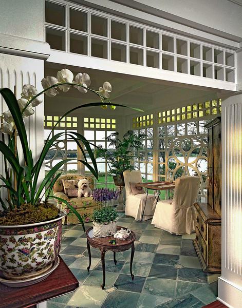 Navesink River House - Sun Room