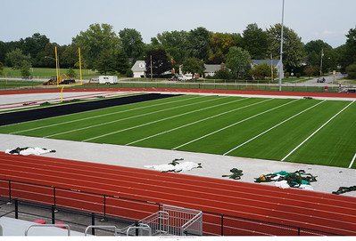 Alumni Field Turf Installation