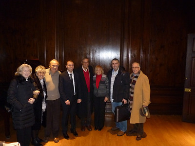 Feb 10 Mon 2014 SALVATORE GITTO Plays Romantic Sonatas at Italian Cultural Institute