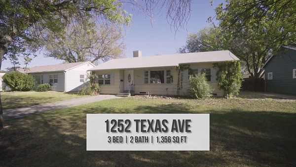 Video 1252 Texas Ave