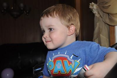 Caleb's Third Birthday
