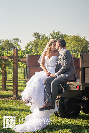 Krista and Michael DC Estate Winery Wedding