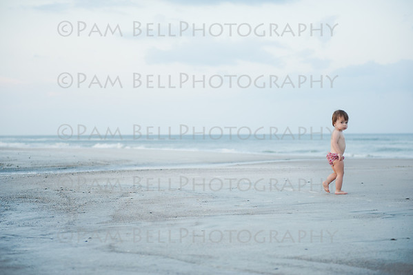 Olivia - fun at the beach