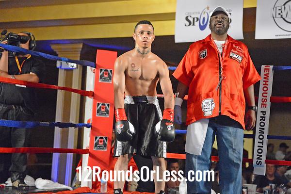 Bout #4  Antonio Nieves (1-0), Cleveland, OH  vs  Jesus Gonzlez (0-0, Pro Debut), Phoenix, AZ  Super Bantamweights