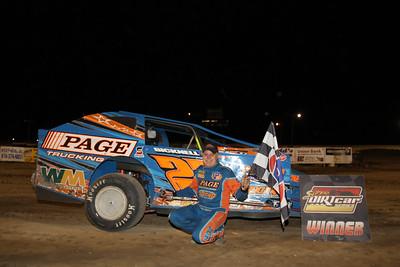 Super DIRTcar Series, I-96 Speedway, Lake Odessa, MI, August 7, 2012