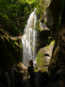 Sky Falls and Laurel Fork Falls August 6, 2017
