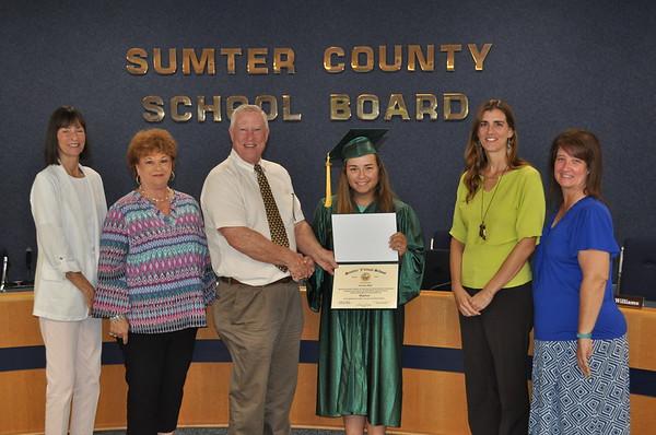 2019-Sumter Virtual School Graduation-Diploma Presentation
