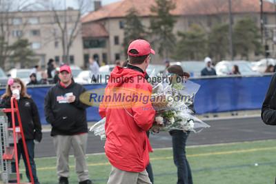 Oakland Seniors - 2013 Oakland vs Detroit Track Meet