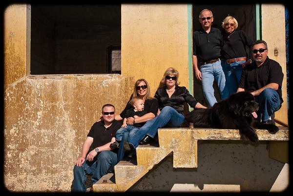 Ellis/Garcia  Family Portrait Shoot