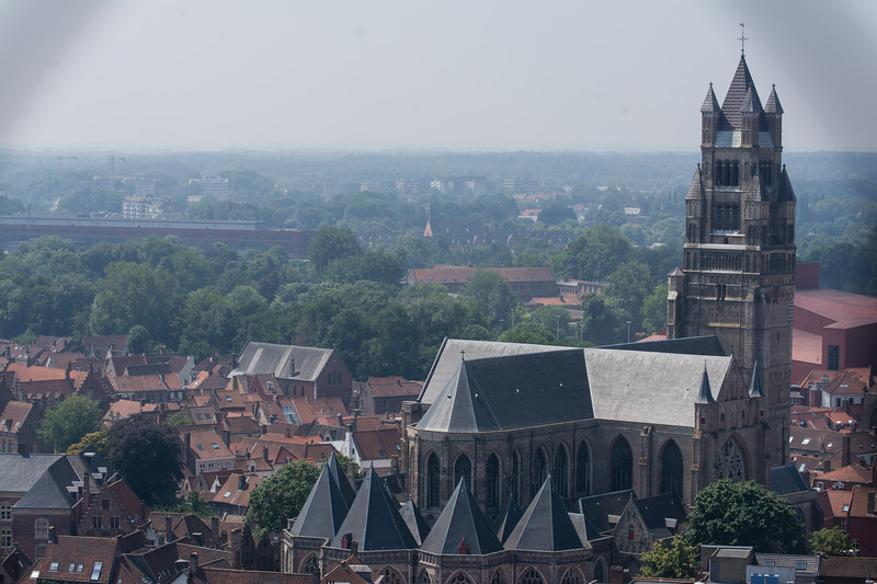 Day 4 - view from Belfry in Brugge, July 7th