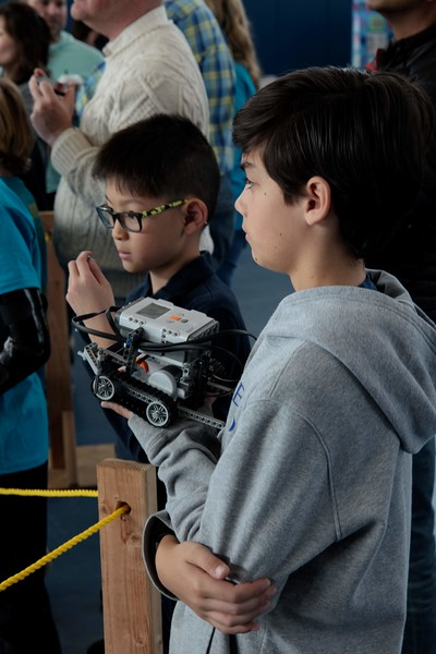Robotics Competition at St. Mary