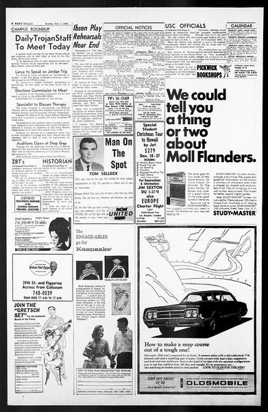 Daily Trojan, Vol. 57, No. 31, November 01, 1965
