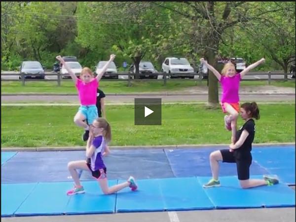 YMCA Cheerleading - 2014