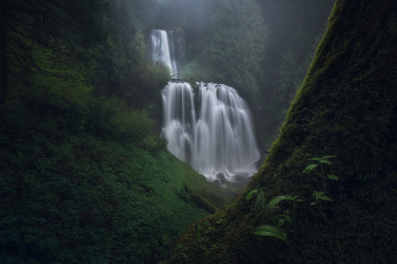 Marion Falls, OR.