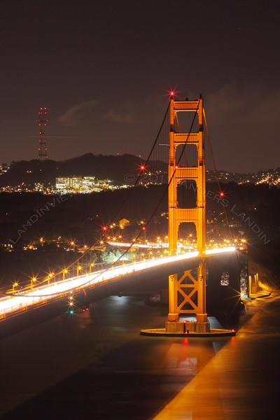 South Tower, Golden Gate Bridge