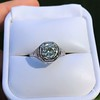 .90ct Vintage Round Brilliant Diamond Solitaire 5
