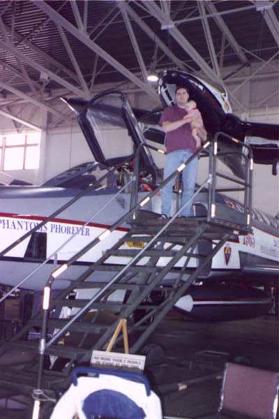 99 Allen w Dad by plane_2.JPG