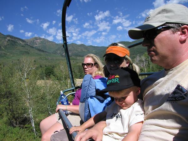 Stewart Falls hike with Jen