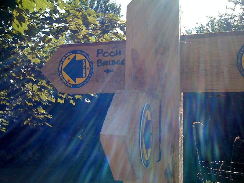 Pooh Bridge this way