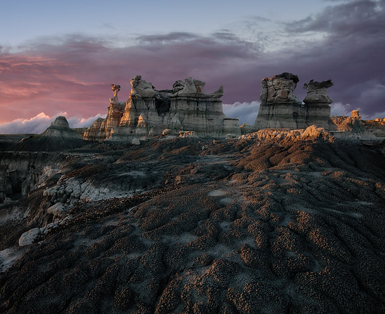 Oil Field Badlands