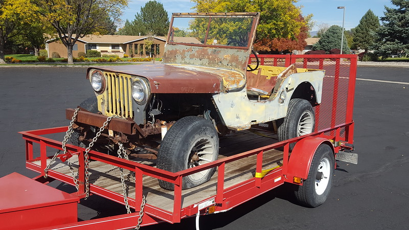 Parts Willys