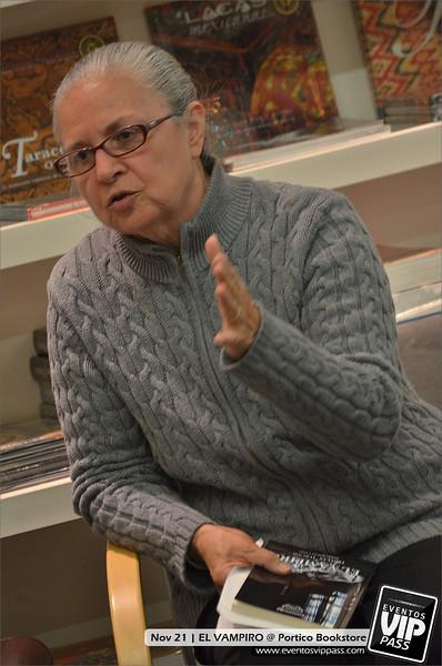 EL VAMPIRO @ Portico Bookstore | Thu, Nov 21