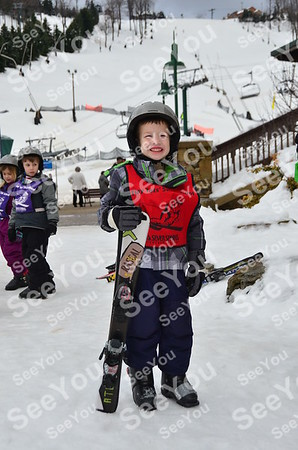 Tiny Tots Ski School 2-11-13