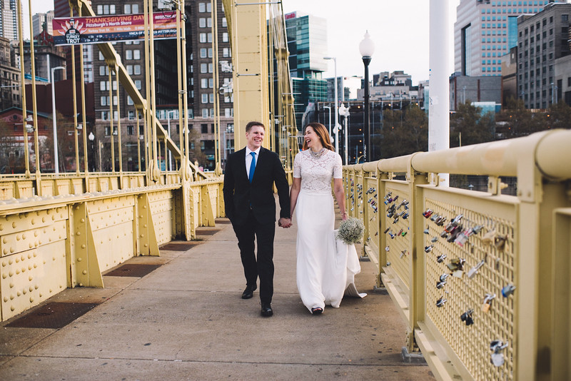 Pittsburgh Elopement Photographer - Monaco Bridge Downtown - Hadley-199.jpg