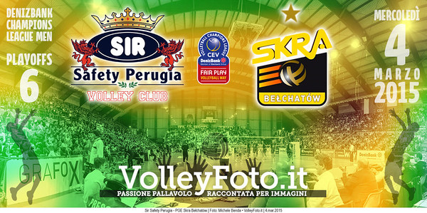 Sir Safety Perugia - PGE Skra Bełchatów | PlayOffs 6