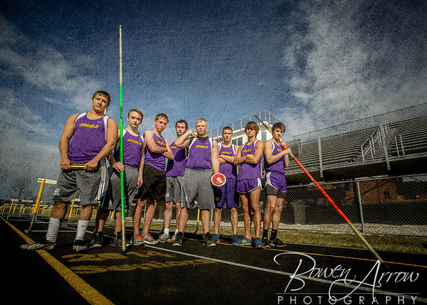 Boys Track Team 2014