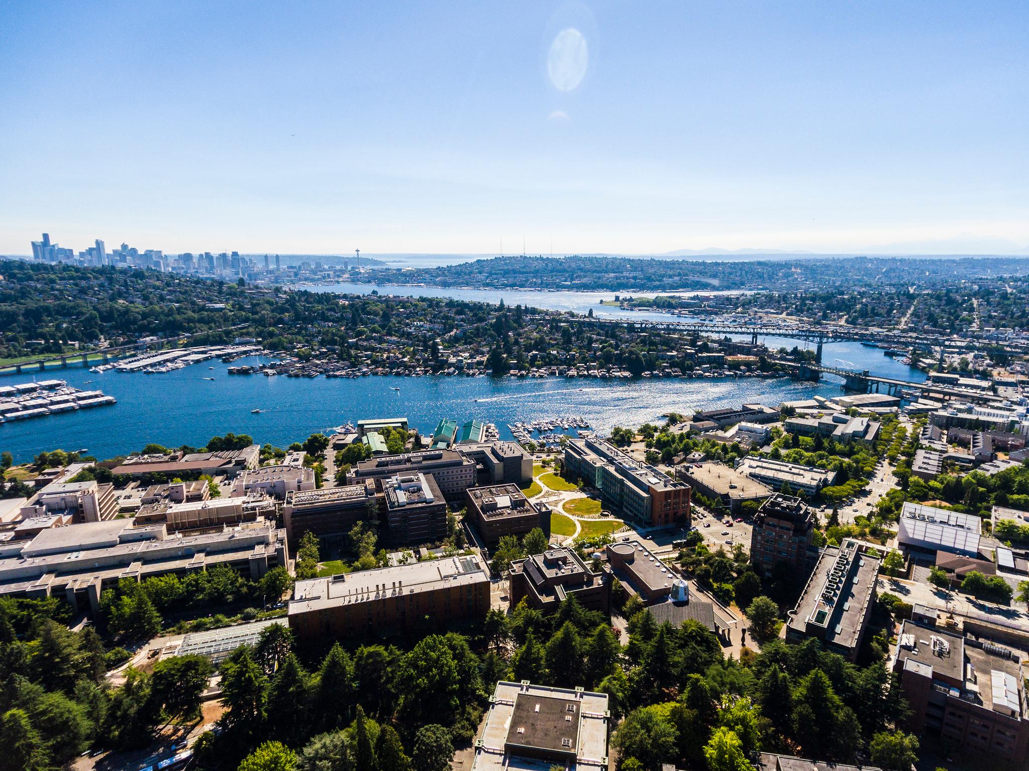 Campus Drone Images