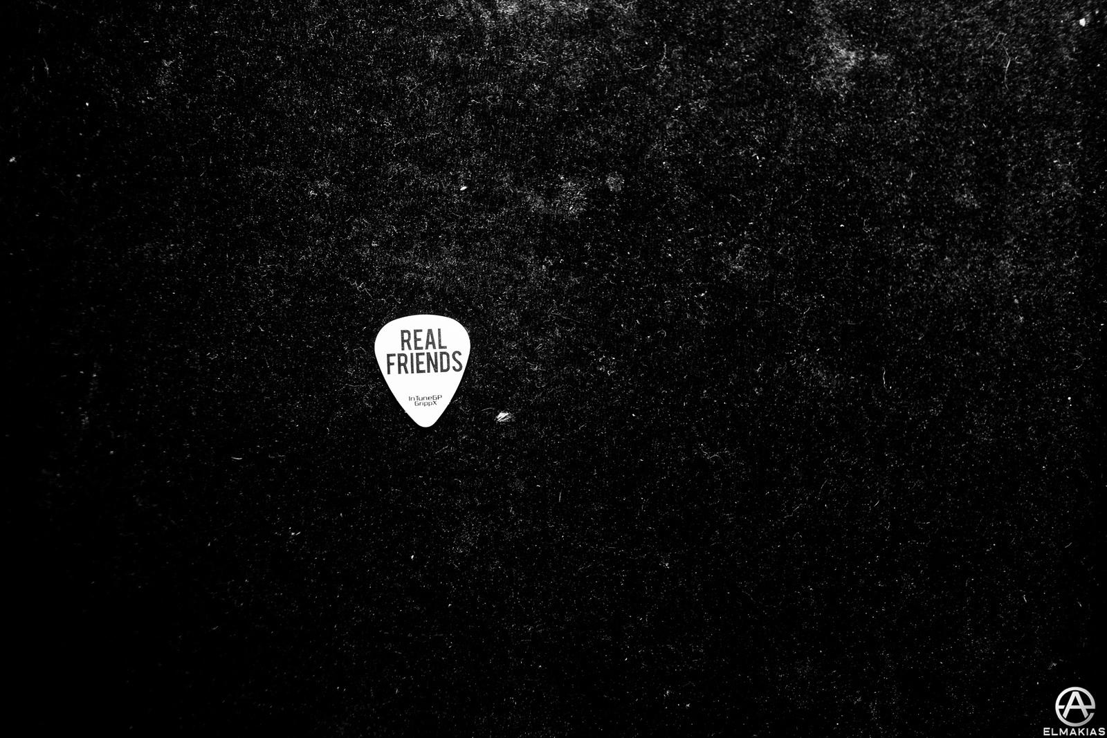 Real Friends Guitar Pick by Adam Elmakias