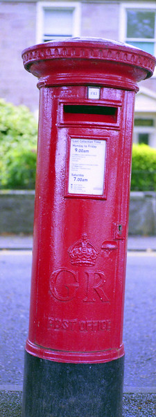 Post box in Inverness