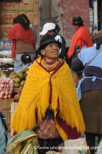 Bundled Up - Saquisili, Ecuador
