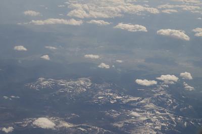 Cascade Mountains Aerial View 7/2011
