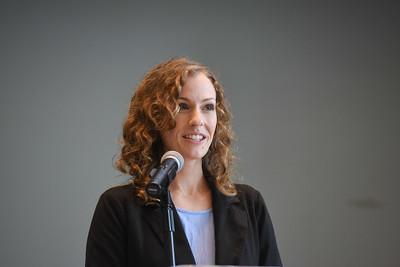 Beth Ritter-Conn speaks at Chapel